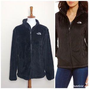 THE NORTH FACE Black Plush Osito Jacket Coat XL